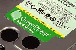 Green Powered Hard Drive