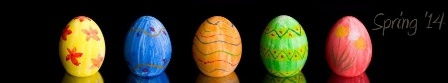 Web Design, Graphic Design, Web Hosting - Spring 2012 Version - Hagerstown, Maryland - Colored Decorated Eggs