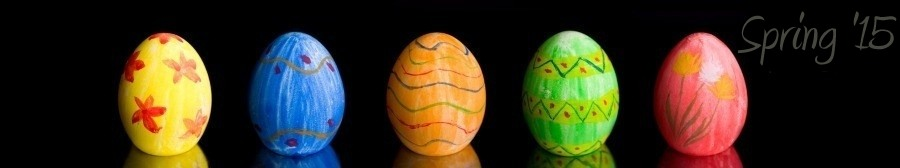 Web Design, Graphic Design, Web Hosting - Spring 2015 Version - Hagerstown, Maryland - Colored Decorated Eggs