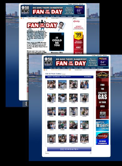 DH WEB Custom Photo Gallery Contest for CBS 58