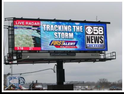 CBS 58 Billboard