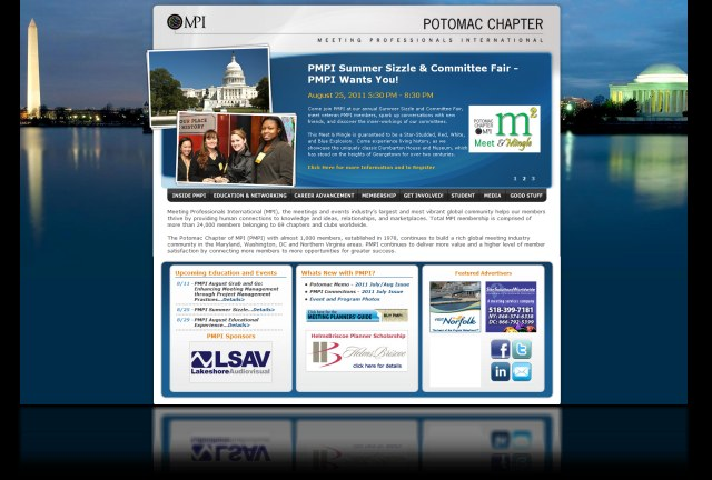 DH WEB Website Design for PMPI